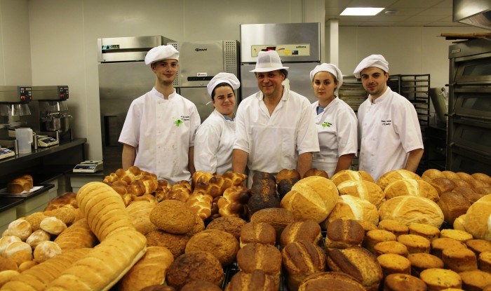 Trainees with Bakery Skills Course
